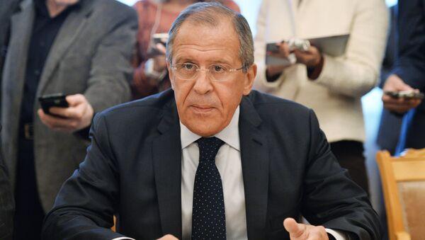 Министар иностраних послова Сергеј Лавров - Sputnik Србија