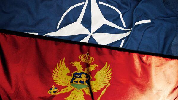 Zastava Crne Gore i NATO-a - Sputnik Srbija