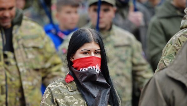 Marš geroev u Kijevu - Sputnik Srbija