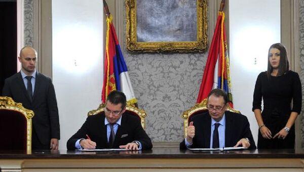 Kiril Kravčenko, potpisivanje memoranduma o podršci obrazovanja u Srbiji - Sputnik Srbija