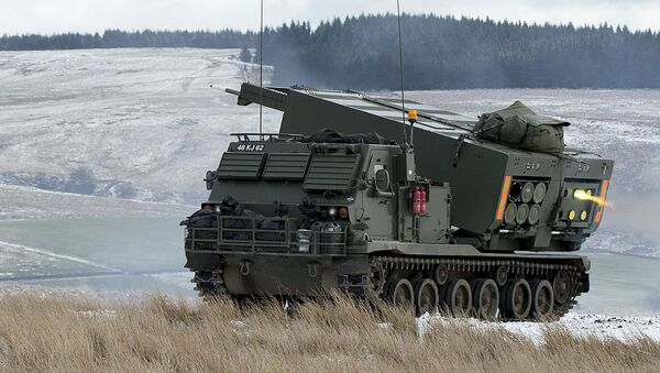 Амерички ракетни систем МЛРС 270 - Sputnik Србија