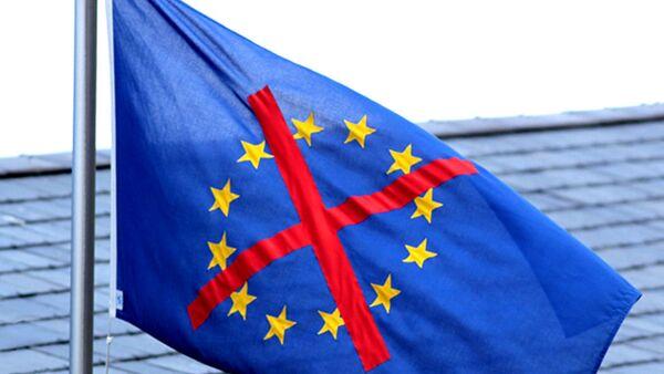 Прецртана застава ЕУ - Sputnik Србија