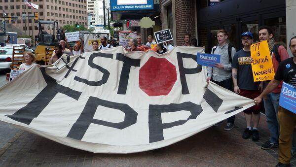 Protesti protiv TPP-a - Sputnik Srbija