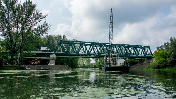 Železnički most preko Tamiša - Sputnik Srbija