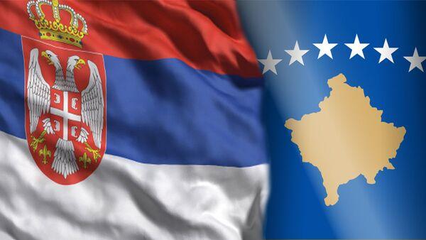 Заставе Србије и непризнатог Косова - Sputnik Србија