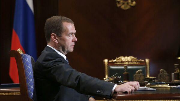Ruski premijer Dmitrij Medvedev - Sputnik Srbija