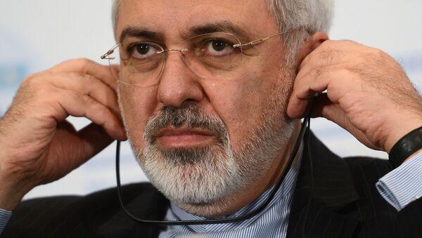 Министар иностраних послова Ирана Џавад Зариф - Sputnik Србија