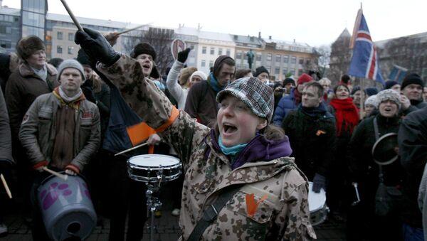 Island, protest - Sputnik Srbija