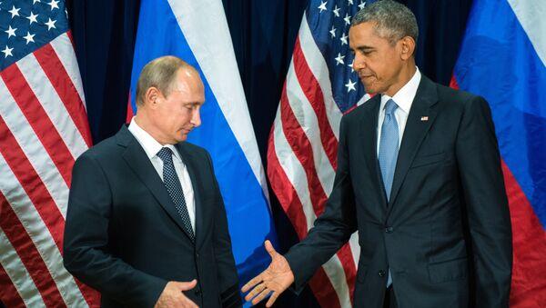 Vladimir Putin i Barak Obama - Sputnik Srbija
