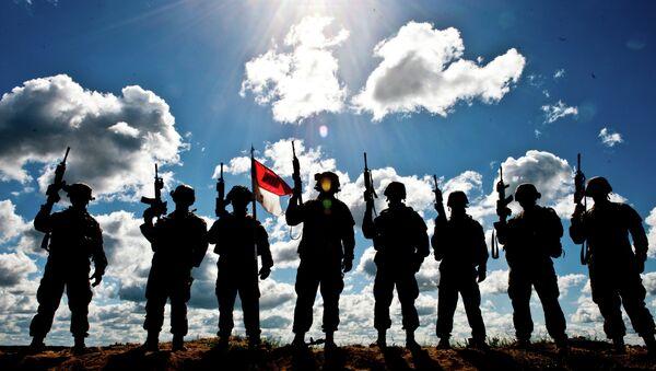 Američki vojnici na obuci u Litvaniji - Sputnik Srbija