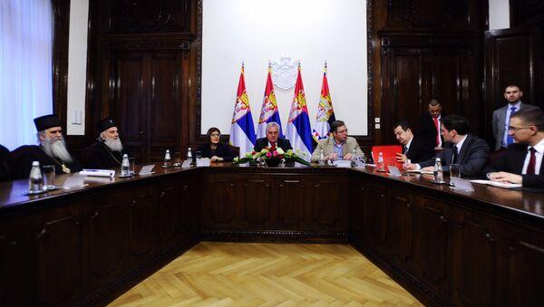 Састанак државног и црквеног врха и представника САНУ, на коме треба да буде размотрена актуелна политицка ситуација - Sputnik Србија