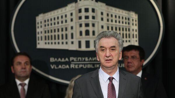 Ministar za ekonomske odnose BiH Mirko Šarović - Sputnik Srbija
