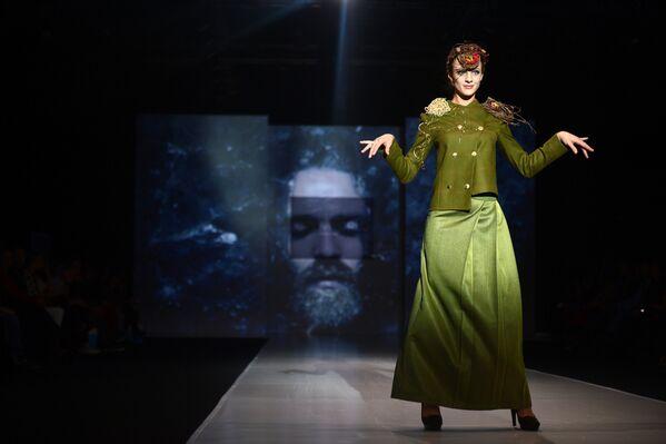 Moskovska nedelja mode — Proizvedeno u Rusiji - Sputnik Srbija