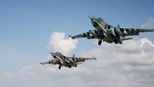 Руска авијација из базе Хмејим - Sputnik Србија
