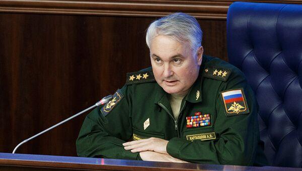 Načelnik glavne operativne uprave generalštaba Rusije Andrej Kartapolov - Sputnik Srbija