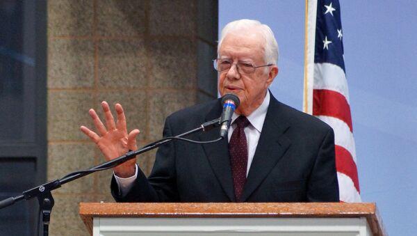 Бивши амерички председник Џими Картер - Sputnik Србија