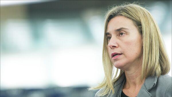 Висока представница ЕУ Федерика Могерини - Sputnik Србија