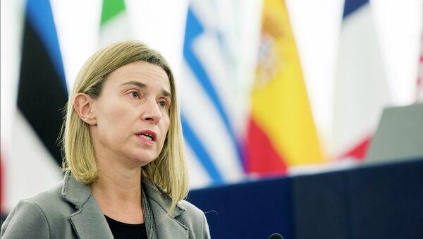 Visoka predstavnica EU Federika Mogerini - Sputnik Srbija