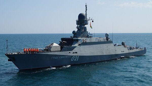 Vojni brod Burjan-M - Sputnik Srbija