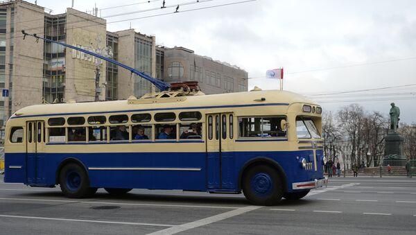 Parada moskovskih trolejbusa - Sputnik Srbija