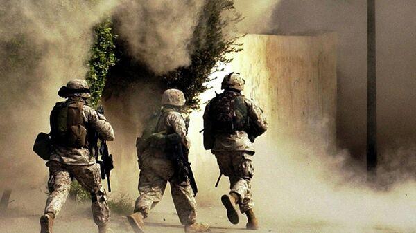 Улазак америчке војске у Ирак - Sputnik Србија