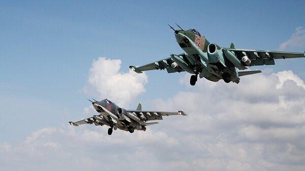 Ruska avijacija u akciji u Siriji - Sputnik Srbija