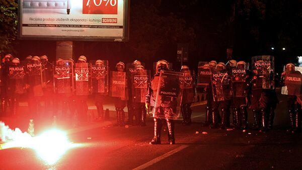 Demonstracije u Podgorici - Sputnik Srbija