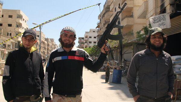 Борци Слободне сиријске армије - Sputnik Србија