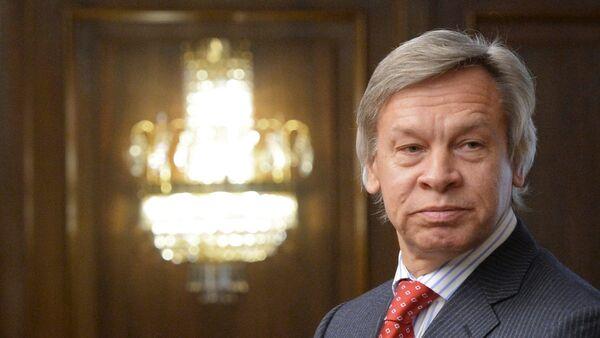 Predsednik Komiteta Državne dume za odnose sa inostranstvom Aleksej Puškov - Sputnik Srbija