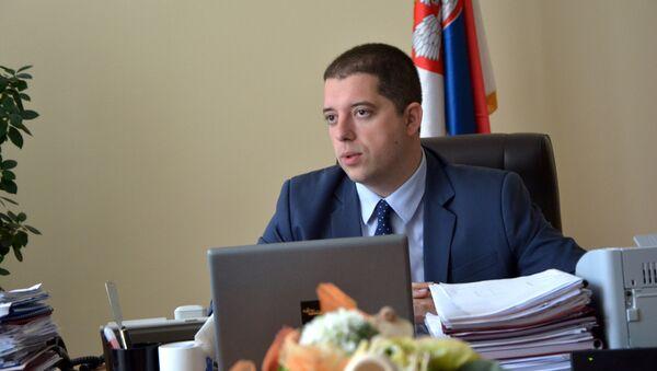 Direktor kancelarije za Kosovo i Metohiju Marko Đurić - Sputnik Srbija