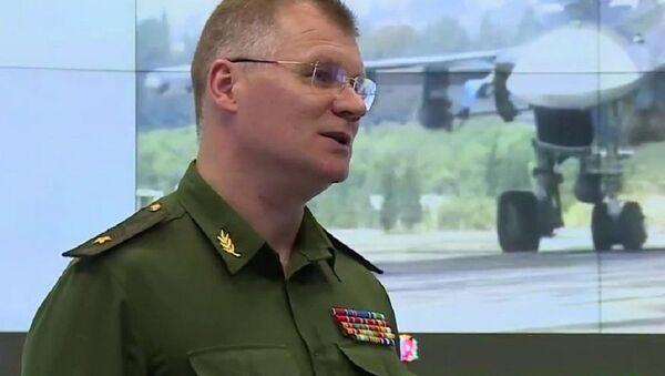 Званични представник Министарства одбране Руске Федерације Игор Конашенков - Sputnik Србија