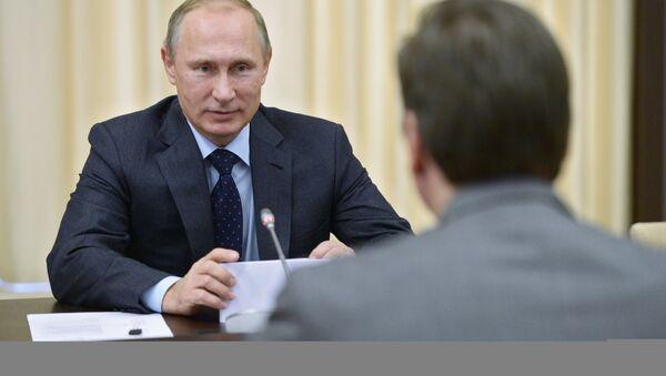 Руски председник Владимир Путин састао се са српским премијером Александром Вучићем у Москви - Sputnik Србија