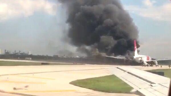 Avion, požar, Florida - Sputnik Srbija
