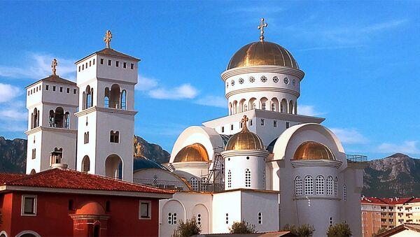 Hram Sv. Jovana Vladimira u Baru, Crna Gora - Sputnik Srbija