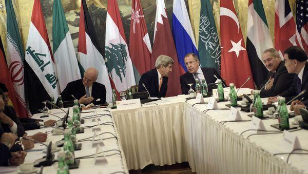 Svetske sile o Siriji, Beč - Sputnik Srbija