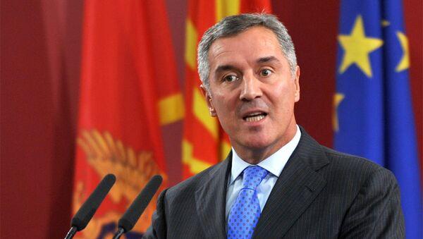 Premijer Crne Gore Milo Đukanović - Sputnik Srbija