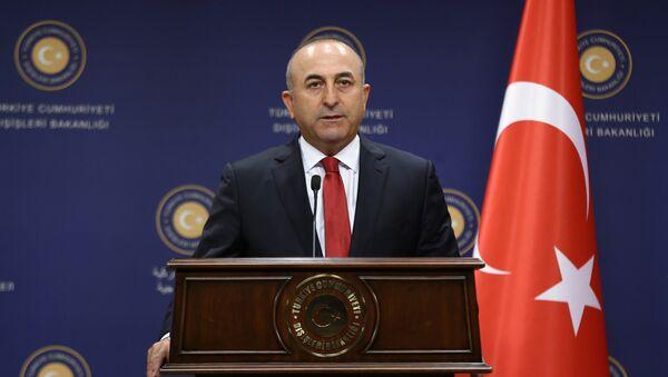 Turski ministar spoljnih poslova Mevlut Čavušoglu - Sputnik Srbija