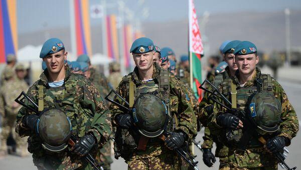 Војници Организације договора о колективној безбедности - Sputnik Србија