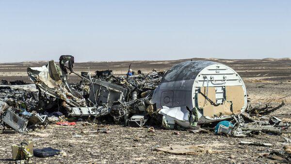Ostaci ruskog aviona A321 - Sputnik Srbija