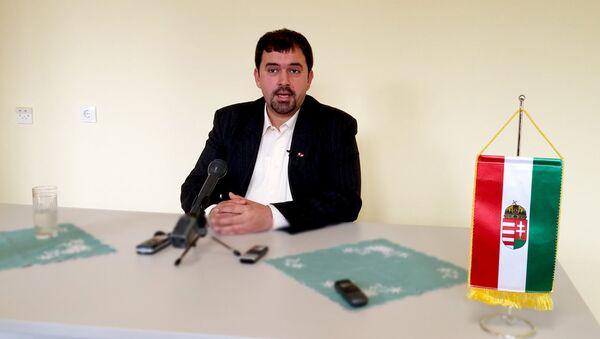 Podpredsednik Jobik - a (mađarske desničarske stranke) Ištvan Savai - Sputnik Srbija