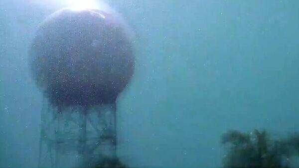 Direct Lightning Strike to Doppler Radar at NWS Brownsville - Sputnik Srbija