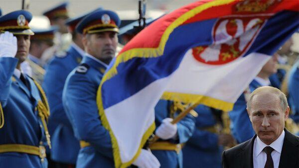 Predsednik Rusije Vladimir Putin u Beogradu - Sputnik Srbija