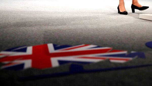 Britanska ministarka unutrašnjih poslova Tereza Mej govori na konferenciji Konzervativne stranke - Sputnik Srbija