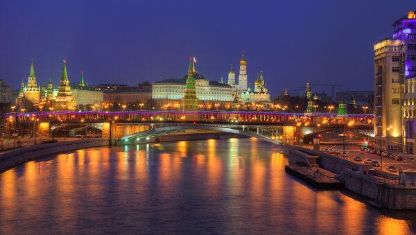 Московски Кремљ са реке Москве - Sputnik Србија