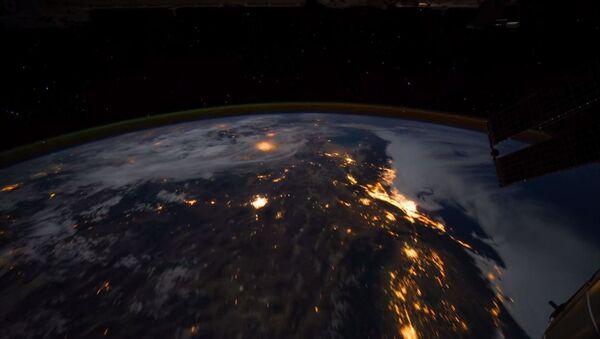 Svemir, pogled sa Međunarodne svemirske stanice - Sputnik Srbija