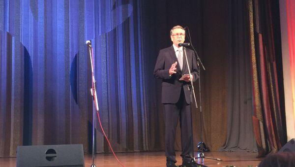 Ruski ambasador u Beogradu Aleksandar Čepurin na prijemu povodom Dana narodnog jedinstva u Ruskom domu. - Sputnik Srbija