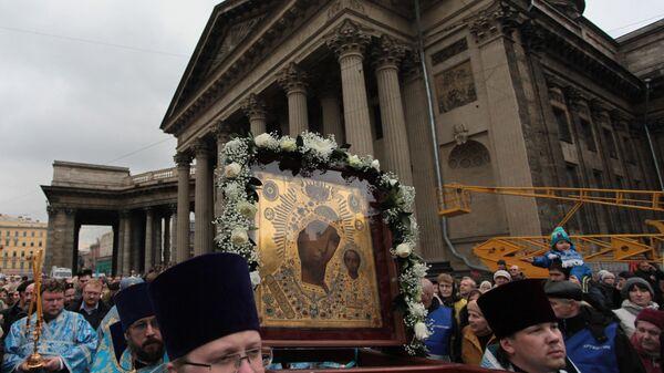 Икона Богородице Казањске је најзначајнија икона у Руској православној цркви - Sputnik Србија