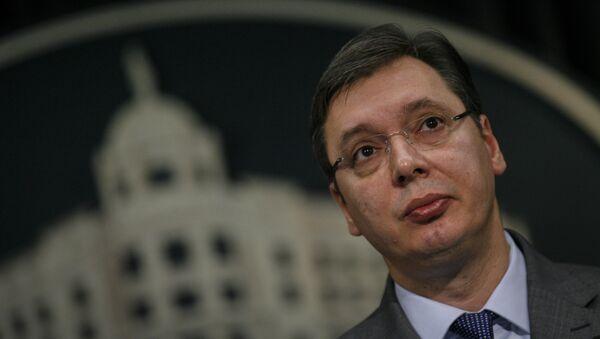 Predsednik Vlade Republike Srbije Aleksandar Vučić - Sputnik Srbija