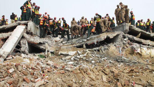 Pakistan nesreća u fabrici - Sputnik Srbija
