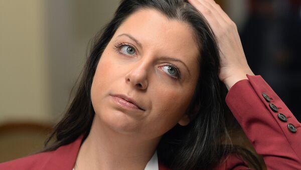 Главна уредница Росија севодња Маргарита Симоњан - Sputnik Србија
